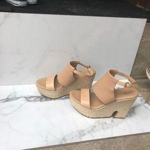 Cole Haan Nike Air Platform Sandals 6